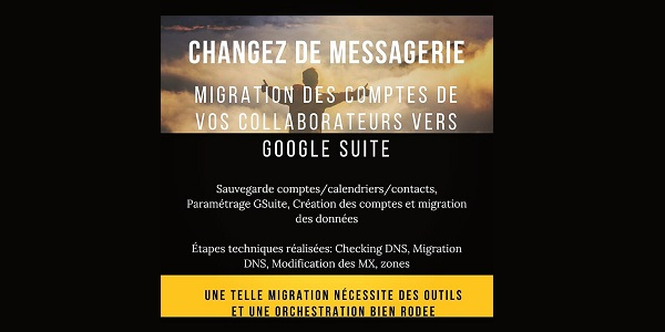 Migration de messagerie